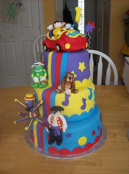 The Wiggles Cake-Jalynn's 2nd birthday