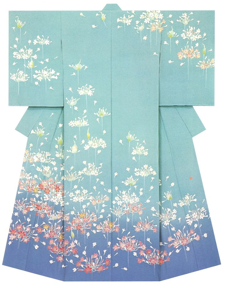 kagayuzen kimono Yoshinobu Takebe