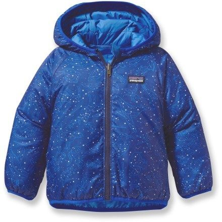 $89 Patagonia Baby Reversible Puff-Ball Insulated Jacket - Infant/Toddler Boys'