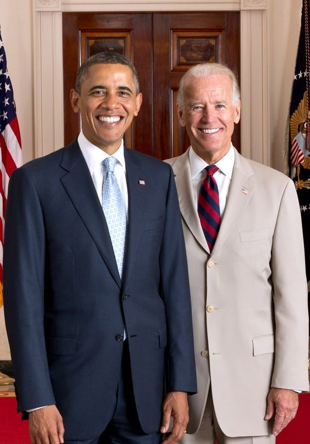 President Barack Obama and Vice President Joseph Biden. We are truly ending a Golden Age, and folks don't even recognize it.