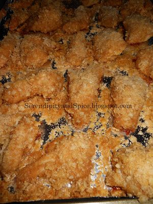 Rice Crispy Chicken - Baked Goodness with Fried Crispiness - Serendipity and Spice