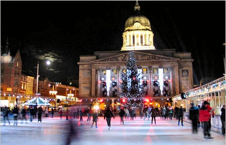 Christmas In Nottingham.