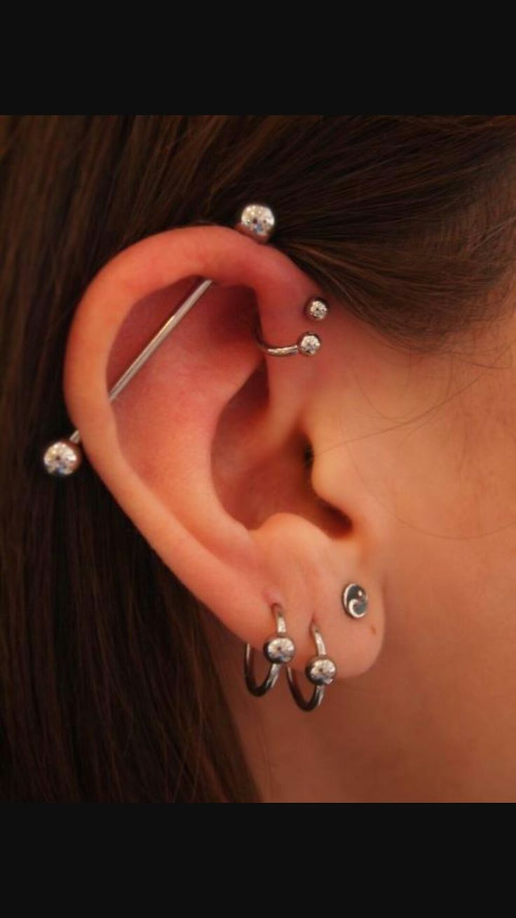 Piercing nose with earring   best Percing images on Pinterest  Earrings Piercing ideas and