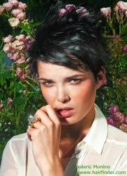 129 best short hairstyles images on pinterest short haircuts short haircut with the bangs styled to the side via hairfinder connect emsalon elisemarcussalon winobraniefo Image collections