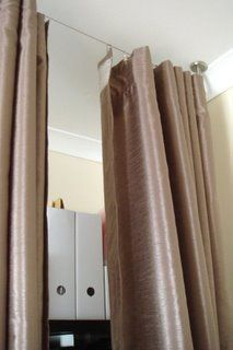 Ikea DIY curtain room divider for around $25