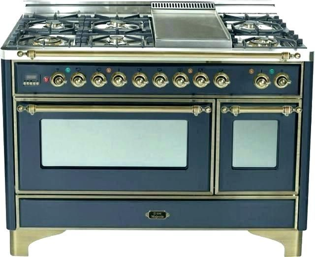 Majestic Dual Fuel Ranges Stylish Cabinet Built In Cabinets