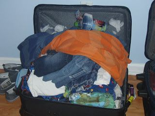 Only one suitcase?! ~ Sane Suitcase Packing Tips - The Exhausted Mom