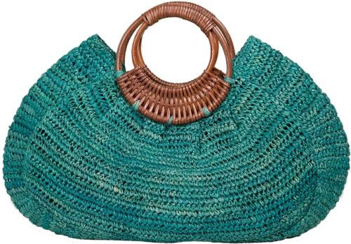 Breezy Bahama Tote Bag from Tommy Bahama (2009 collection) - crocheted from a blend of raffia and cotton