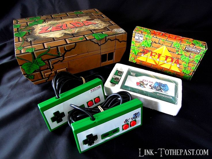 Yes, this is a custom european NES, skinned like the Zelda Game & Watch. A work signed by #LinkToThePast fan from France!