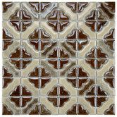 Found it at Wayfair - Castle Porcelain Hand-Painted Tile in Henna