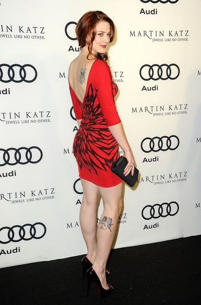 Alexandra Breckenridge Photos: Audi Celebrates The 2012 Golden Globe Awards - Arrivals