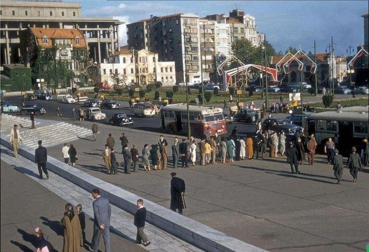 Taksim Meydanı 1950 li yıllar
