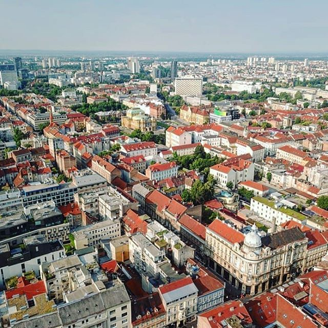 Zagreb From A Bird S Eye View Croatia Djiglobal Mavicpro