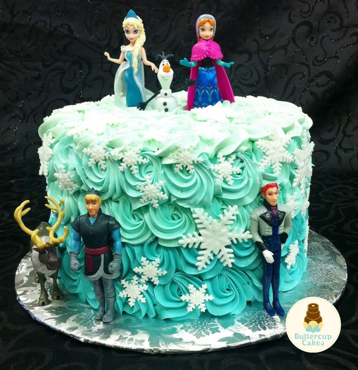 Frozen Characters Birthday Cakes images