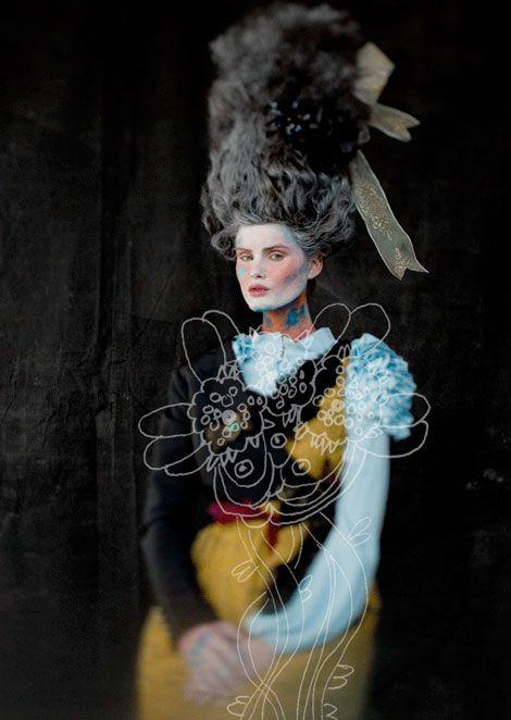 Fashion photography has taken a new path thanks to Pamela Reed and Mathew Radar . Bravo guys