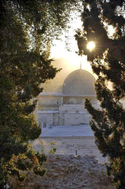 Bait Al-Muqaddas (Al-Aqsa Mosque) in Jerusalem, (Palestine).