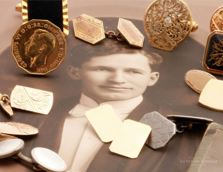 A Selection of Cufflinks - Gift Ideas for Father's Day