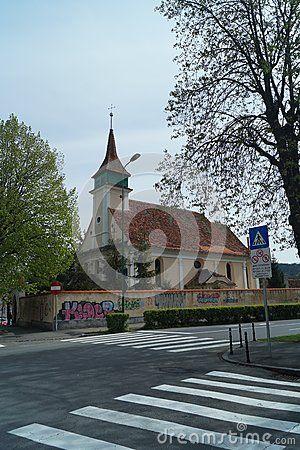 Hungarian Lutheran Evangelical Church 1783, Biserca Evanghelică Luterană Maghiară, Romania, Transylvania, Brasov
