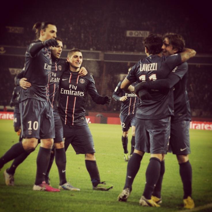 Le PSG l'emporte face au SC Bastia 3-1  24 ème journée de Ligue 1 !