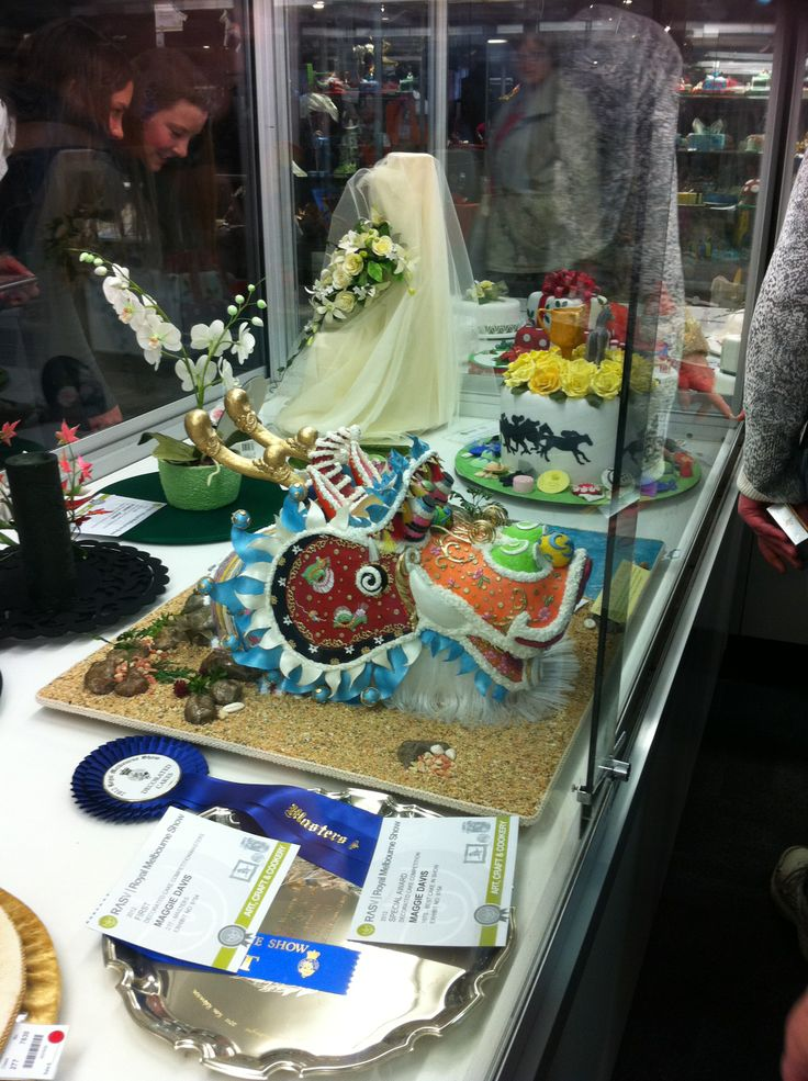 Royal Melbourne Show Cake Exhibits