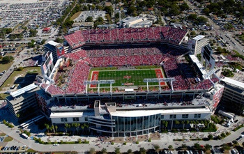 Raymond James Stadium (Buccaneers)- Two performances and the experience of a lifetime ;)