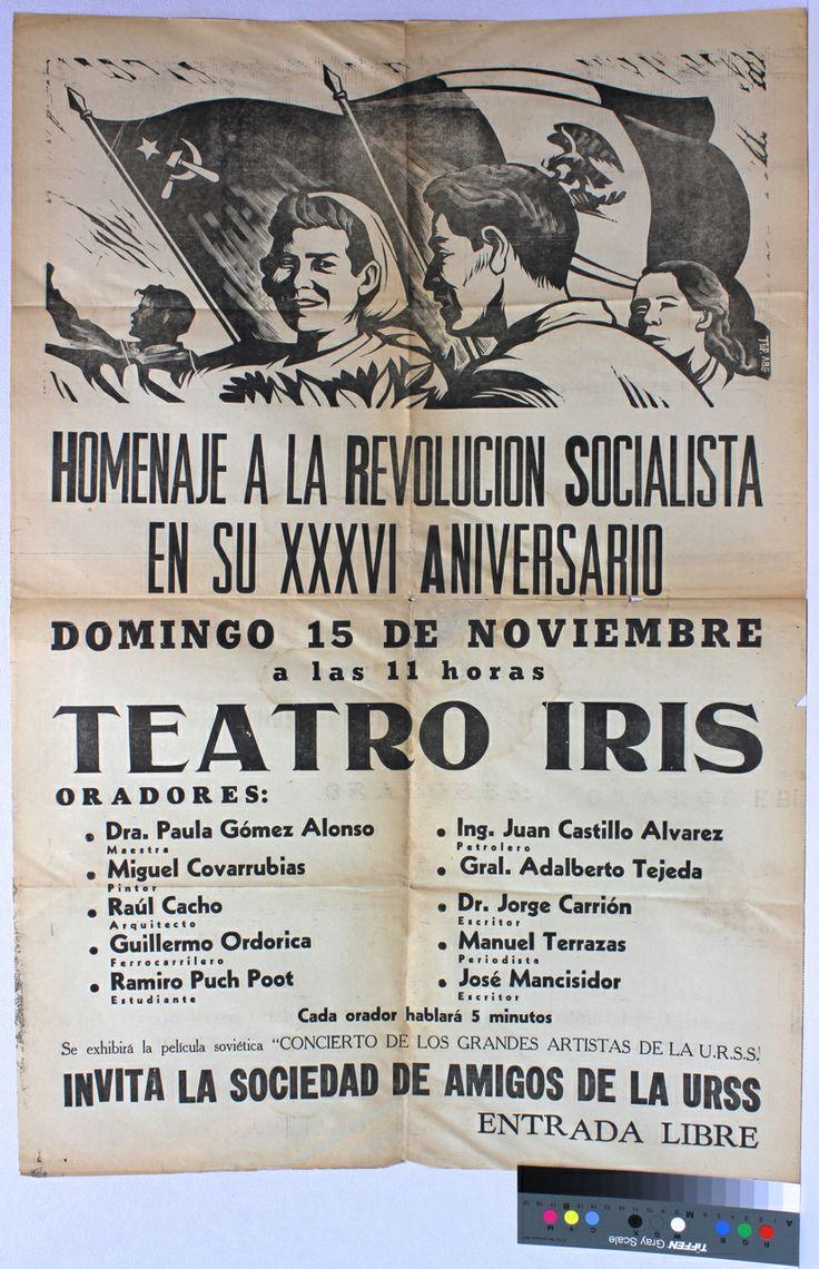Homenaje a la Revolucion Socialista en su XXXVI Aniversario - Alberto Beltran