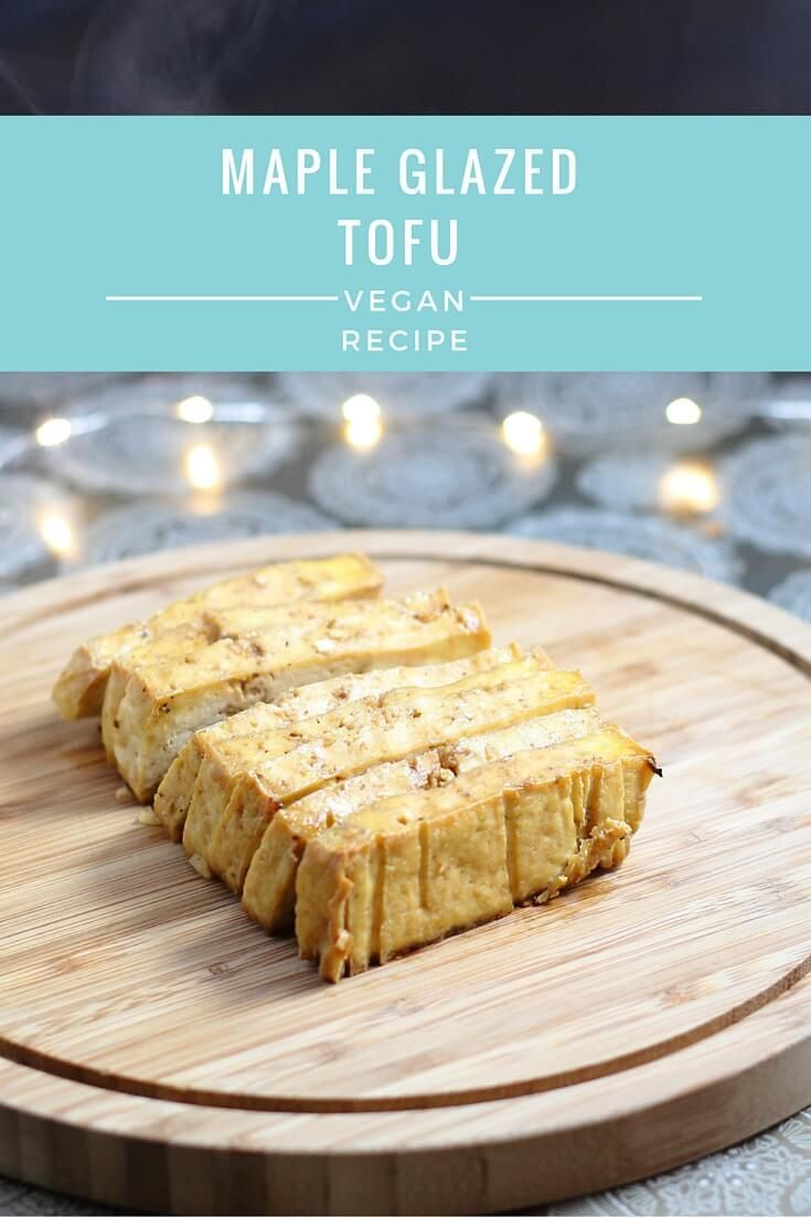 Maple Glazed Tofu | Vegan, Gluten-free & Perfect for Christmas