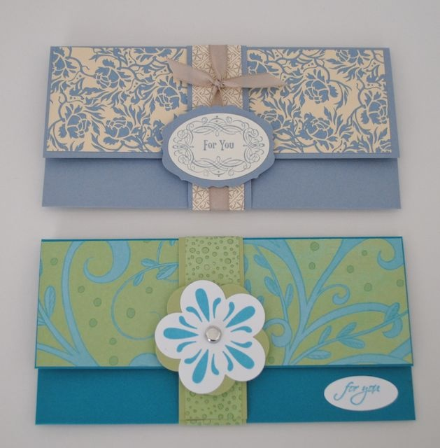 Jill's Card Creations: money holders
