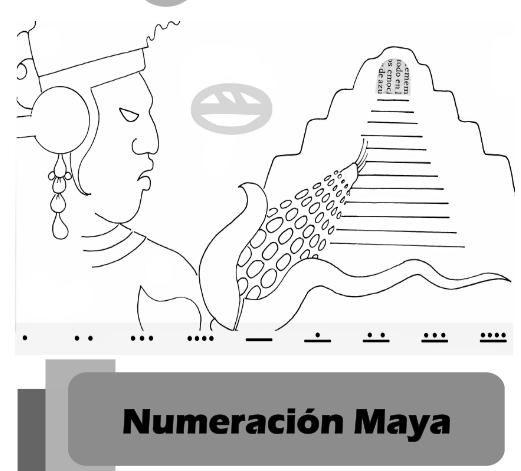 Numeración maya-0. Ejercicios y guias
