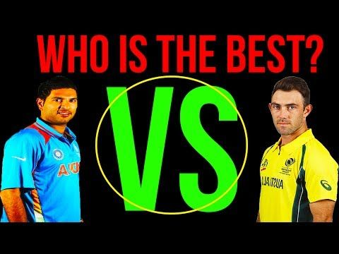 Yuvraj Singh vs Glenn Maxwell  Who is The Best  Batsman
