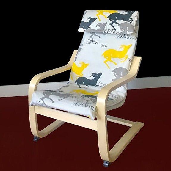 Ikea Poang Kidsu0027 Chair   Childrenu0027s Armchair   Kidsu0027 Armchair   Playroom    Kids