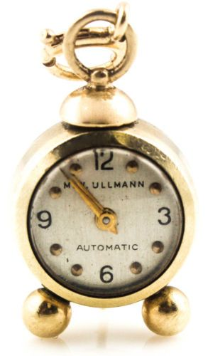 14K-MECHANICAL-WORKING-CLOCK-CHARM-VINTAGE