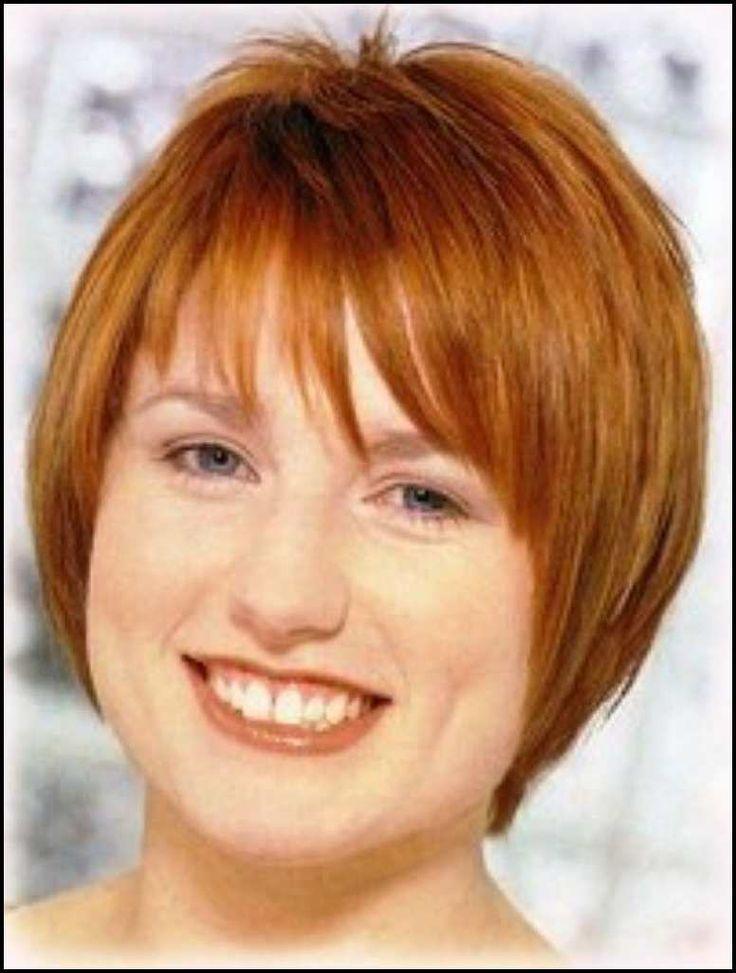 Schmeichelhafte Haarschnitte In Ubergrosse Frisuren Fur Ubergewichtige Frauen Frisuren Kurzhaarfrisuren Kurzhaarfrisuren Haarschnitt Frisuren