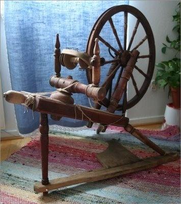 Rukki - spinning wheel - like my Great Grandmothers