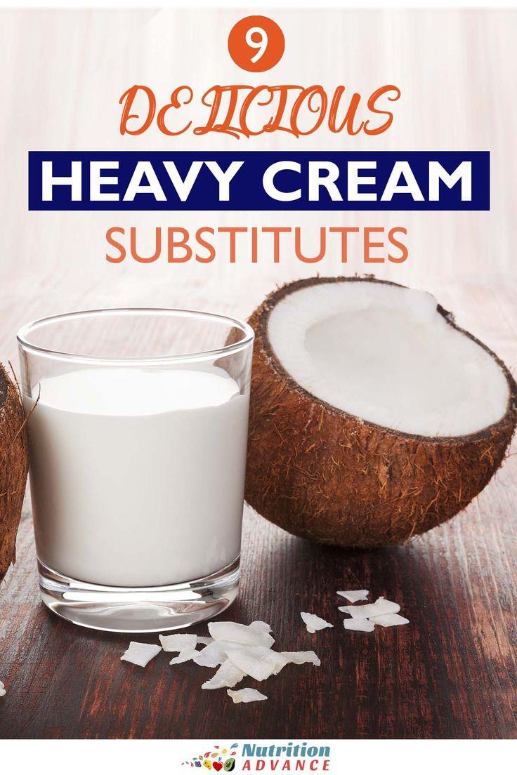 9 Delicious Heavy Cream Substitutes Heavy Cream Substitute Dairy Free Heavy Cream Heavy