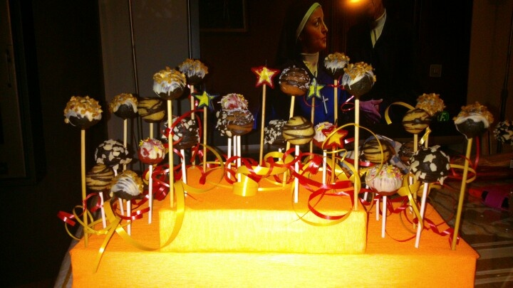 Tarta cake pops!