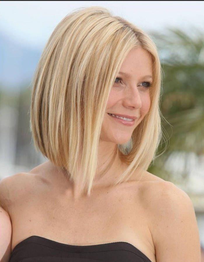 Carré plongeant cheveux glamour - Les plus jolis carrés plongeants - Elle