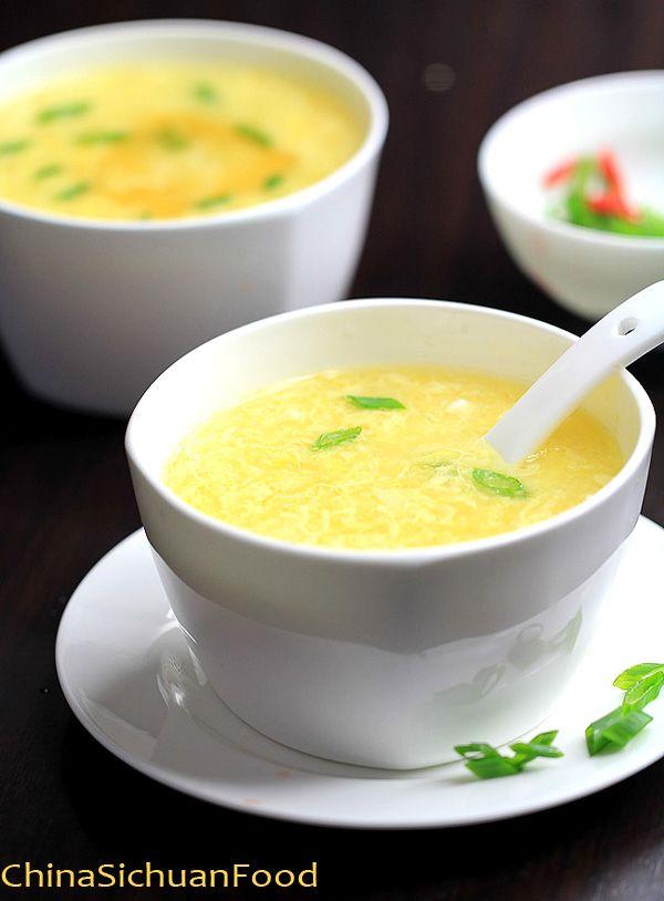 Corn Egg Drop Soup