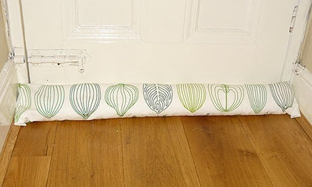 How To Make A Draught Excluder Diy Draught Excluder