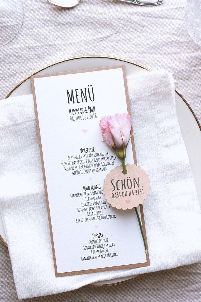 Selbstgemachte Papeterie für Ihre Hochzeit – mit wunderschönen DIY-Sets