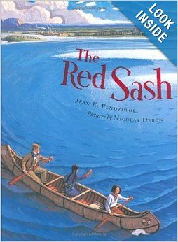 The Red Sash is a picture book about the history of the fur trade in Canada. It tells of the relationship between the First Nations First Nations, and the Métis people of Canada, and the French Canadian voyageurs on a fur trading post in the 1800's.