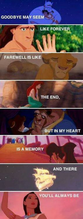 (Sob) Disney really gets those feelings started and then it just makes you feel the feelings! I love Disney so much!