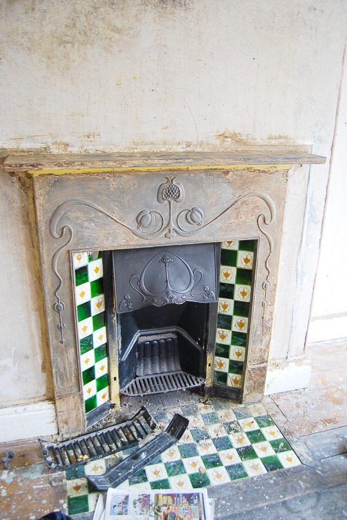 How To Restore An Original Cast Iron Fireplace