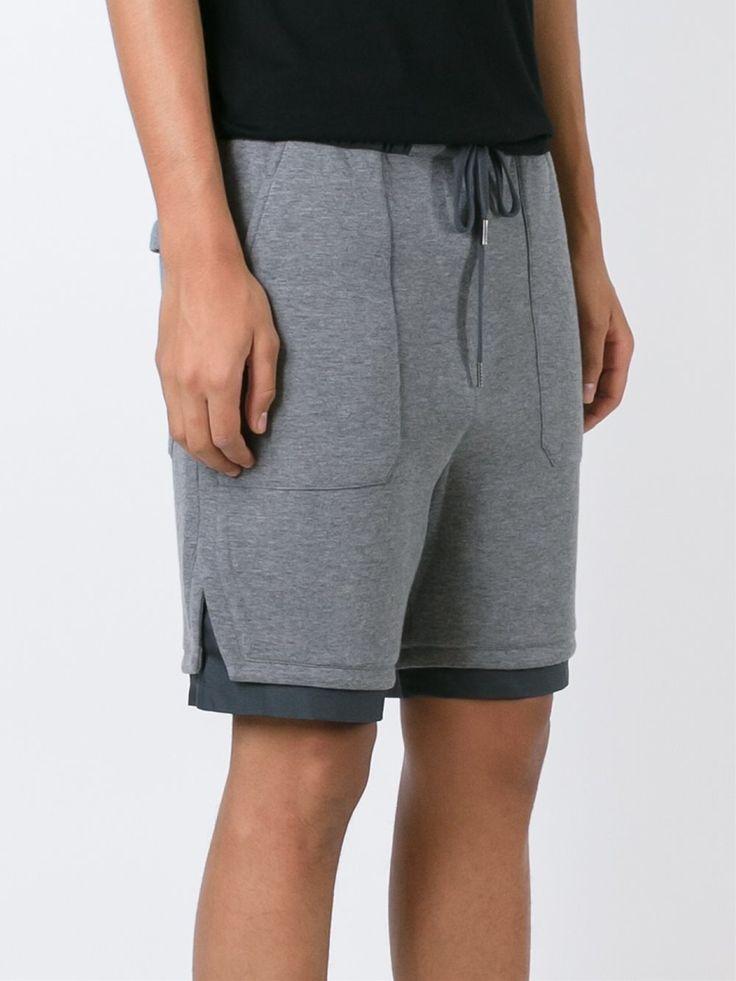 Helmut Lang Contrast Hem Shorts - Vitkac - Farfetch.com
