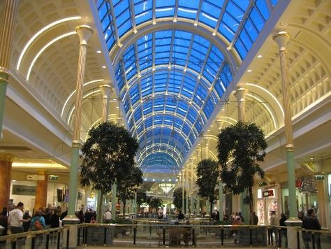 Trafford Centre, Manchester. Jane's favourite shopping location in the UK.