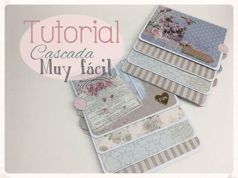 Tutorial cascada fácil con sobres, Waterfall envelopes