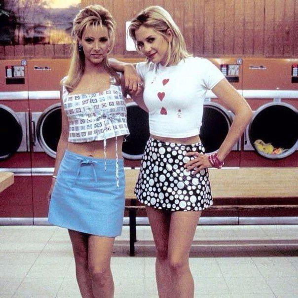Мира Сорвино и Лиза Кудроу, 1990-е