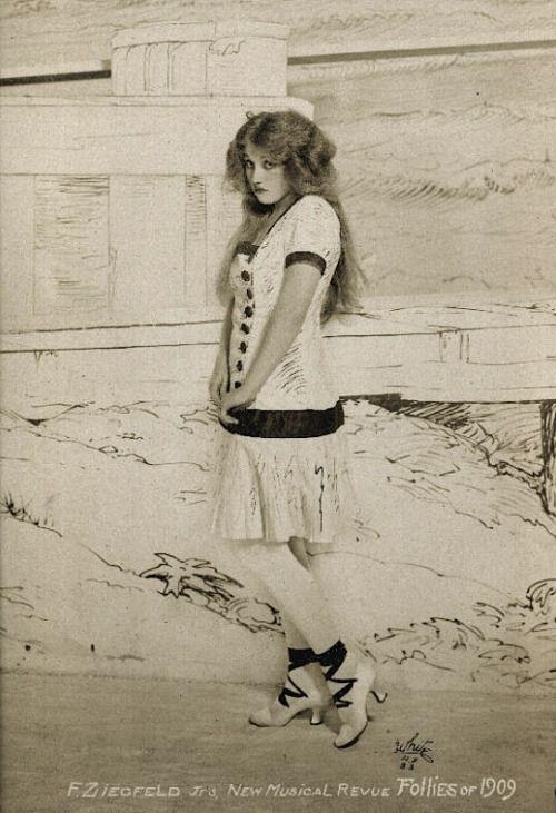 Mae Murray - Ziegfeld Follies of 1909.