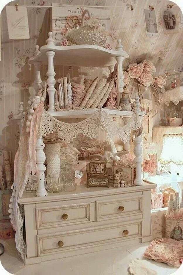 Best 50 Inexpensive Shabby Chic Craft Table Ideas, Must Have! – Janet Hinkley