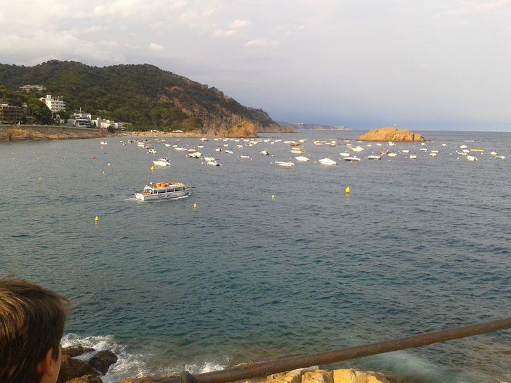 #Tossa in the evening #Costabrava #Girona
